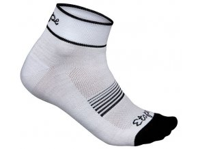 Etape - dámské ponožky KISS, bílá/černá