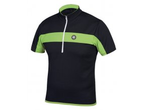 Etape - pánský dres FACE, černá/zelená