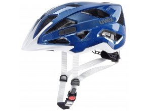 19 UVEX HELMA ACTIVE, BLUE WHITE 52-57