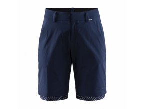 w cyklosortky craft ride habit shorts tmave modra 4