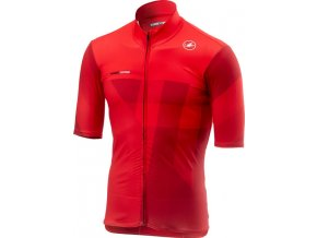 Castelli - pánský dres Mid Weight, red