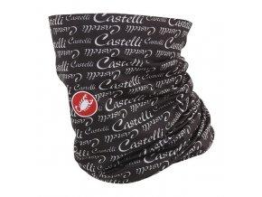 Castelli – multifunkční šátek Head W Thingy, antracite/white
