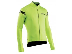 Cyklobunda NORTHWAVE Extreme H2O Jacket Long Sleeves Tot.Prot.Yellow Fluo