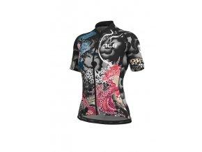 Letní cyklistický dres ALÉ GRAPHICS PRR  OCEAN LADY