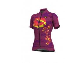 Letní cyklistický dres ALÉ GRAPHICS PRR  ROMANTIC LADY