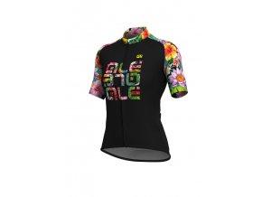 Letní cyklistický dres ALÉ SOLID  ALE' LAB FLOWERS