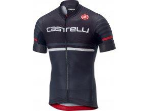 Castelli - pánský dres Free Ar 4.1, black/dark grey