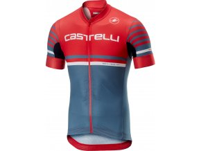 Castelli - pánský dres Free Ar 4.1, red/light st. Blue