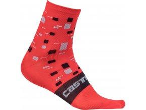 Castelli - dámské ponožky Climber´s, hibiscus