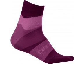 Castelli - dámské ponožky Tr, onda cyclamen