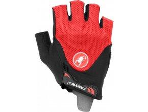 Castelli - pánské rukavice Arenberg gel 2, black/red