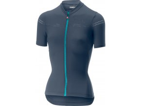 Castelli - dámský dres Promessa 2, dark steel blue