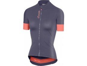 Castelli - dámský dres Anima 2, dark steel blue