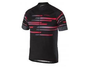 Etape - pánský dres ENERGY, černá/červená