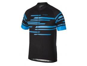 Etape - pánský dres ENERGY, černá/modrá