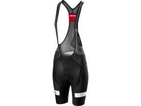 Castelli - dámské kalhoty Free Aero Race 4 s vložkou, black/white