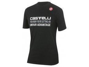 Castelli – pánské triko Advantage, black