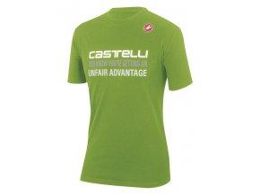 Castelli – pánské triko Advantage, green