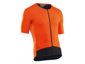 Cyklodres NORTHWAVE Essence Jersey Short Sleeves Orange