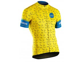 Cyklodres NORTHWAVE Banana Split Jersey Short Sleeves Yellow
