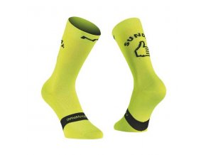 northwave sunday monday socks lime fluo 1