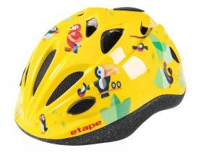 Etape – dětská přilba na kolo PONY, žlutá