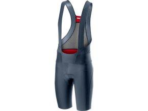 Castelli - pánské kalhoty Premio 2 s vložkou, dark steel blue