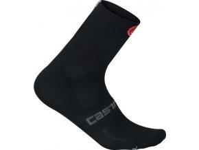Castelli - ponožky Quattro 6 cm, black