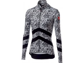 Castelli - dámský dres Goccia, black/white
