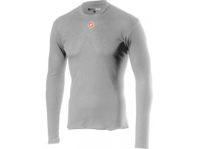 Castelli – pánské funkční prádlo Prosecco R LS, silver gray
