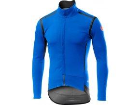 Castelli - pánská bunda Perfetto Long drive blue
