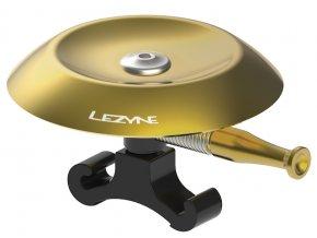 zvonek classic shallow brass bell black