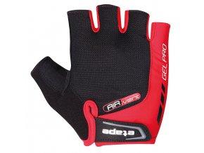 Etape - pánské rukavice TOUR, červená