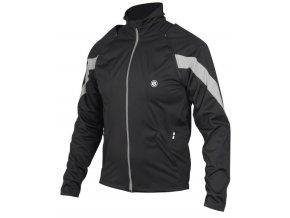 Etape - pánská bunda STRONG WS, černá/reflex