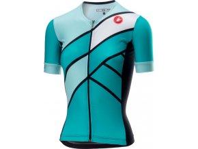 Castelli - dámský triatlonový dres Free Speed W Race, turquoise green