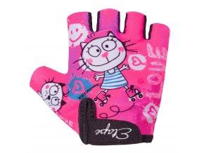 Etape – dětské rukavice TINY, růžová