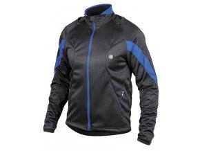 Etape - pánská bunda STRONG WS, černá/modrá