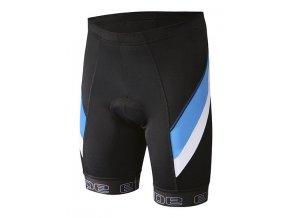 Etape - pánské kalhoty PROFI PAS s vložkou, černá/modrá