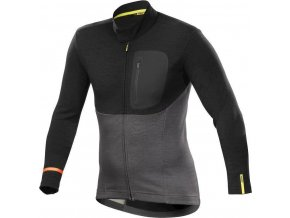 20 MAVIC DRES DL. RUKÁV ALLROAD THERMO BLACK/ASPHALT (L40185900) XL