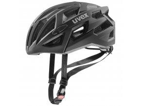 20 UVEX HELMA RACE 7, BLACK 51-55