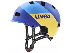 20 UVEX HELMA HLMT 5 BIKE PRO, BLUE ENERGY MAT 55-58