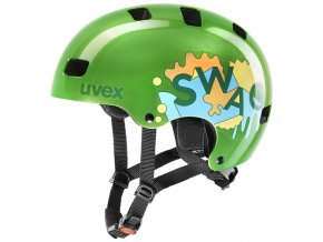 20 UVEX HELMA KID 3, GREEN 51-55