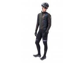 Zimní cyklistická bunda ALÉ GUSCIO   IRIDESCENT REFLECTIVE JACKET