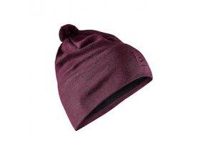 Čepice CRAFT Practice Knit fialová UNI