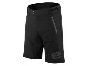 Etape - pánské volné kalhoty FREEDOM, černá