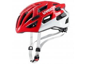19 UVEX HELMA RACE 7, RED WHITE 51-55