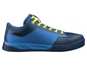 20 MAVIC TRETRY DEEMAX ELITE FLAT POSEIDON/INDIGO BUNTING/SAFETY YELLOW (L40635700) 8