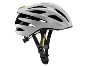 19 MAVIC HELMA AKSIUM ELITE W WHITE/LOLLIPOP 406944 S