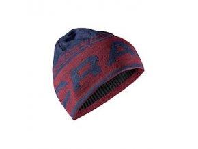 Čepice CRAFT Logo Knit tmavě modrá UNI