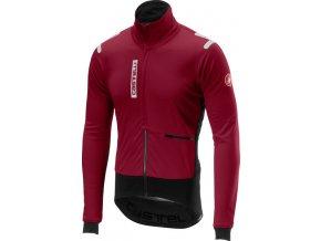 Castelli – pánská bunda Alpha RoS, matador red/black